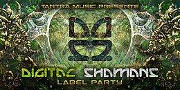 Party Flyer Digital Shamans Rec. Label Party - Open Air 7 Oct '17, 22:00