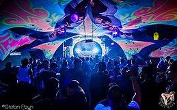 Party Flyer Disturbia Vol.3 (PsyTrance + Tekno) 7 Oct '17, 22:00