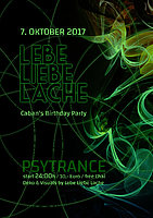 Party Flyer Dj Caban´s Birthday Bash 7 Oct '17, 22:00