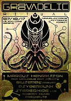Party Flyer Groovadelic Ritual [Goa/Psytrance] 7 Oct '17, 22:00
