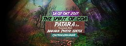 Party Flyer The Spirit of Goa 7 Oct '17, 23:00