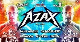 Party Flyer AZAX Syndrom en Barcelona! (Upload) 11 Oct '17, 23:30