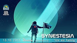 """Party Flyer Synestesia """"We Are Family"""" 13 Oct '17, 22:00"""