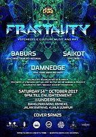 Party Flyer EPIC Tribe pres. FRACTALITY 14 Oct '17, 21:00