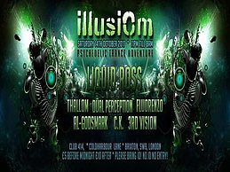 Party Flyer Illusiom @Club 414/Sat 14th Of Oct,With Liquid Ross & Many More! 14 Oct '17, 23:00