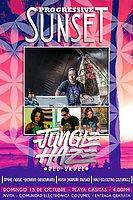 Party Flyer Progressive Sunset : Jungle Haze live! 15 Oct '17, 16:00