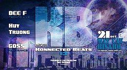 Party Flyer Konnected Beats #3 21 Oct '17, 21:00