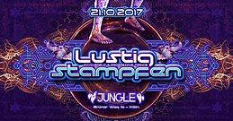 Party Flyer Lustig Stampfen / 2 Floor Goa / Shacom Delia / DJ Bim uvm. 21 Oct '17, 22:00