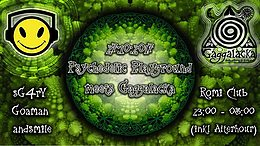 Party Flyer Psychedelic Playground meets Gaggalacka 27 Oct '17, 23:00