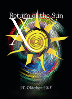Party Flyer RETURN OF THE SUN X 27 Oct '17, 23:00
