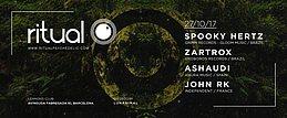 Party Flyer Ritual (Spoky Hertz & Zartrox live!) at Lennons Club, Barcelona 27 Oct '17, 01:00