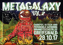 Metagalaxy VOL. 2 • Atacama Live • Zottel • Psycko 28 Oct '17, 23:00