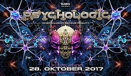 Party Flyer PsychoLogic 5 ॐ Ab 20 ♫ Caveman / Kala ♫ Die ersten 100 = Free 28 Oct '17, 21:00