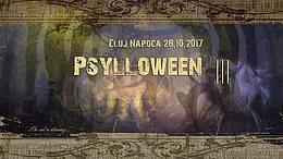 Party Flyer Psylloween³ 28 Oct '17, 22:00