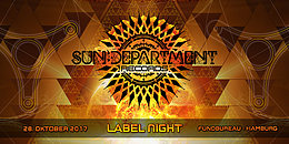 Party Flyer Sun Department Label Night 28 Oct '17, 22:00