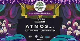 Party Flyer TREEBAL: ATMOS LIVE • ACIDWAVE • ANCIENT OM at SPACEHALL 28 Oct '17, 23:00