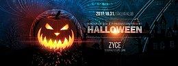 Party Flyer Halloween party / Zyce / Fáklya klub 31 Oct '17, 21:00