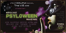 Party Flyer PSYLOWEEN •••Private Party ••• 31 Oct '17, 18:00