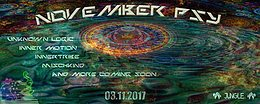 Party Flyer November Psy ॐ/ 2 Floor Goa at Jungle Club 3 Nov '17, 22:00