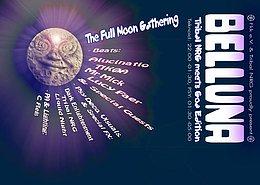 Party Flyer Belluna -Full Moon Party - Goa Edition 4 Nov '17, 22:00