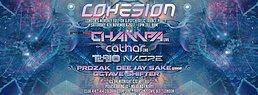 Party Flyer Cohesion Psytrance Adventure 4 Nov '17, 23:00