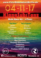 Party Flyer FBB KlangSubsTanz Nicht Open Air & Benjamins Geburtstagssause 4 Nov '17, 23:00