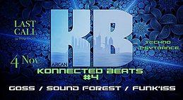 Party Flyer Konnected Beats #4 4 Nov '17, 23:00
