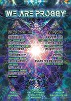 Party Flyer We are Proggy 4 Nov '17, 23:00