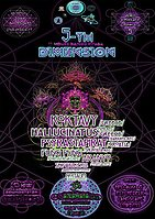 Party Flyer 5-TH Dimension 10/11-11/11 (Universal synchronicity) 10 Nov '17, 22:00