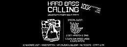 Party Flyer Hard Bass Calling vol.1 10 Nov '17, 23:00