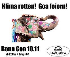 Party Flyer Twilight * Bonn Goa * Dark Progressive Special im: Das Sofa 10 Nov '17, 22:00