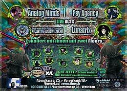 Party Flyer Freaky Spirit 11.11. Wetzikon 11 Nov '17, 22:00