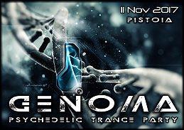 Party Flyer Genoma 11 Nov '17, 22:00