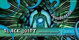 Party Flyer Orgonnation ✸ Slackjoint ✸ 11 Nov '17, 22:00