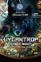 Party Flyer Aioaska Prods pressents: Lycantrop Records Label Night 17 Nov '17, 22:00