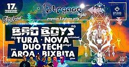 Party Flyer Artrance night (Italia) by Bassground! 17 Nov '17, 23:30