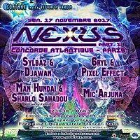 NEXUS - Part I 17 Nov '17, 23:30
