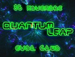 Party Flyer QuAnTuM•LeAp • PsYTrAnCe• GOA Re-Union • 18 Nov '17, 23:40