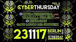 Party Flyer CyberThursday - vol.2 23 Nov '17, 23:00