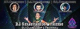 Party Flyer DJ SebastianKos & Friends with U-Recken 24 Nov '17, 22:30