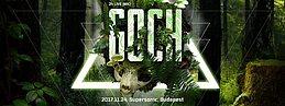 Party Flyer Liquid Monkeys Tribe & Goázs pres.: Under The Trees w/ Goch (MK) 24 Nov '17, 22:00