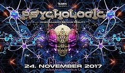 Party Flyer PsychoLogic 6 ॐ Ab 20 ♫ ZZbing / Kim ♫ Die ersten 100 = Free 24 Nov '17, 21:00