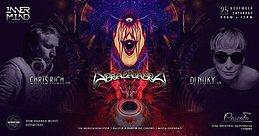 Party Flyer Abracadabra apresenta Bom Shanka Showcase (12h non stop) 25 Nov '17, 23:30