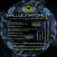 Party Flyer Hallucinatorium Evolution 6 25 Nov '17, 23:00