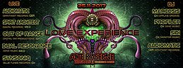 Party Flyer **LOVE EXPERIENCE** Alte Kaserne Zürich 25 Nov '17, 23:00