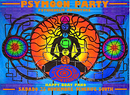 Party Flyer PSYMOON PARTY TENERIFE SOUTH 25 Nov '17, 22:00