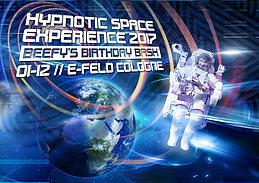 Hypnotic Space 2017 BEEFY`s 60 Birthday Bash ~~>Atmos & E-Clip Live<~~ 1 Dec '17, 22:00