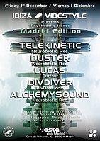 Party Flyer Ibiza Vibestyle Madrid Edition 1 Dec '17, 23:00