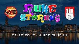 Party Flyer Ruhestörung Hamburg 1 Dec '17, 23:00