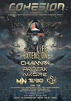 Party Flyer Cohesion Presents Enterrec Label Party 2 Dec '17, 23:00